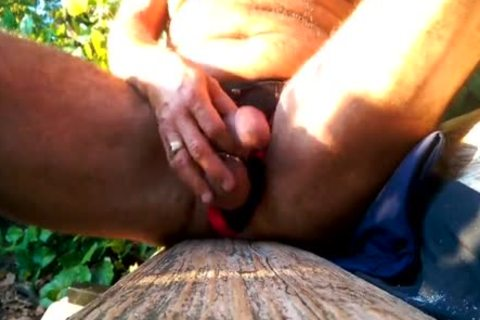 Me jerking off In A lengthy Unabashed Masturbation Session In tasty Stanley Park.