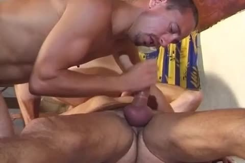 ribald Muscled daddies Stuffing constricted Hol