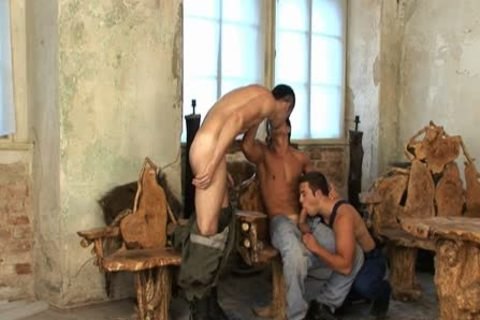 Dmitry, Artur And Erik Threeway Sex