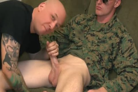 Marine Sgt James blow job